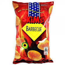 KiMs Chips Barbecue 175g