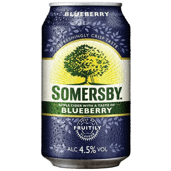 Somersby Blueberry Cider 4,5% 24x0,33 l