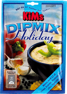 Kims Dipmix Holiday 17g