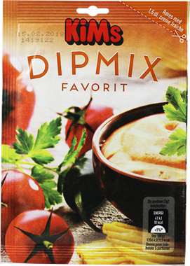 Kims Dipmix Favorit 15g